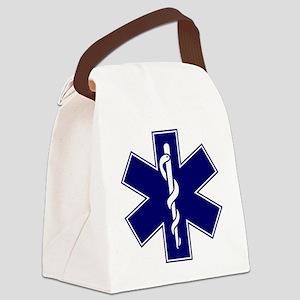 EMT logo Canvas Lunch Bag