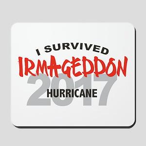 Hurricane Irma Survivor Mousepad