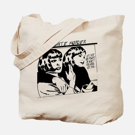 MY FAVORITE MURDER GOO Tote Bag