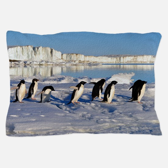 Penguin Place Pillow Case