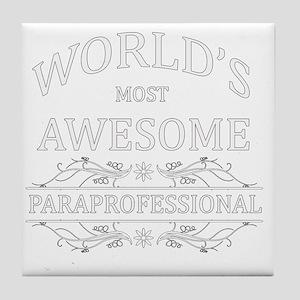 paraprofessional Tile Coaster