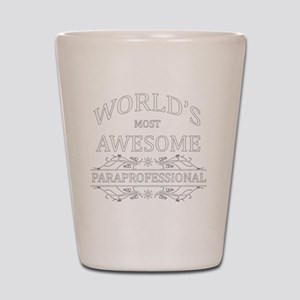 paraprofessional Shot Glass