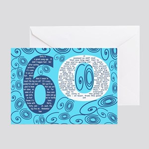 60th Birthday Poem - Sixty Is a Gran Greeting Card