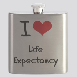 I Love Life Expectancy Flask