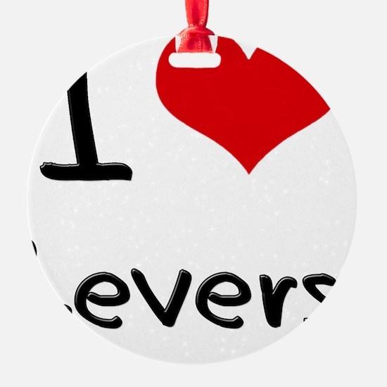 I Love Levers Ornament