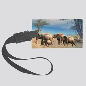s2_pillow_case Large Luggage Tag
