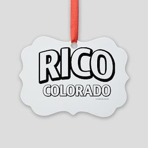 Rico Colorado Picture Ornament