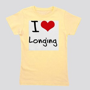 I Love Longing Girl's Tee