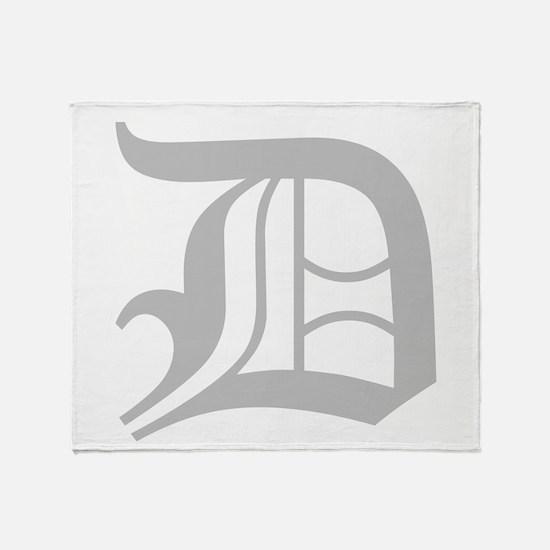 Detroit Throw Blanket
