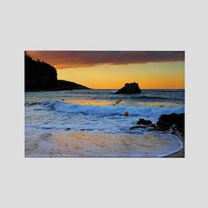 Mediterranean Sunset Rectangle Magnet