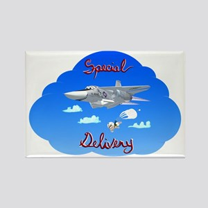 FB-111A - Special Delivery Rectangle Magnet