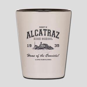 Alcatraz High School Shot Glass