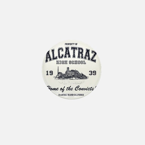 Alcatraz High School Mini Button