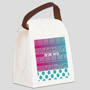 Cardiac Nurse all over shirt Canvas Lunch Bag