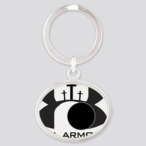 Full Armour Oval Keychain