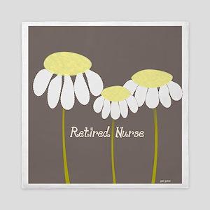 Retired Nurse Daisies Queen Duvet