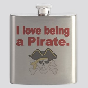 I love being a Pirate Flask