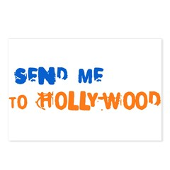 Send Me To Hollywood Postcards (Package of 8)