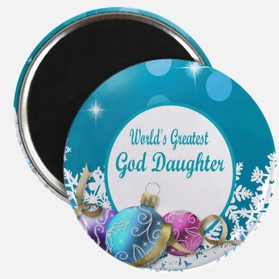 Worlds Greatest God Daughter Magnet