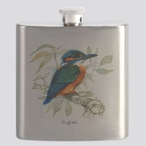 Kingfisher Peter Bere Design Flask