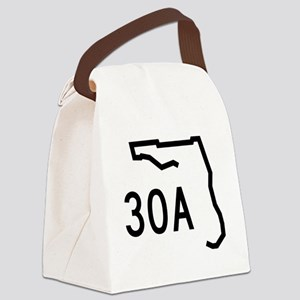 30A Florida Coast Canvas Lunch Bag