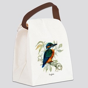 Kingfisher Peter Bere Design Canvas Lunch Bag