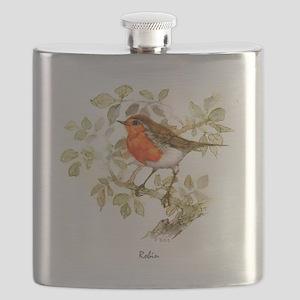 Robin Peter Bere Design Flask