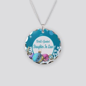 Worlds Greatest Daughter In  Necklace Circle Charm