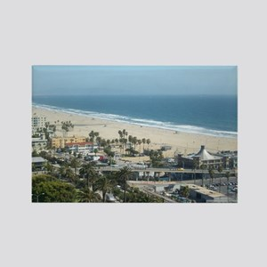 THE PERFECT VIEW IN SANTA MONICA, Rectangle Magnet