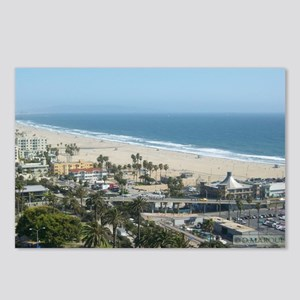 THE PERFECT VIEW IN SANTA Postcards (Package of 8)