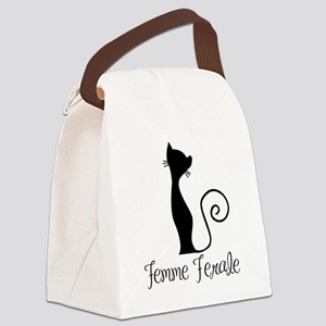 Femme Ferale Canvas Lunch Bag