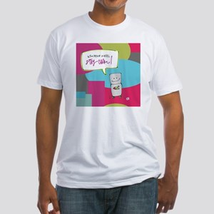 Tip for a Chaotic Day Fitted T-Shirt