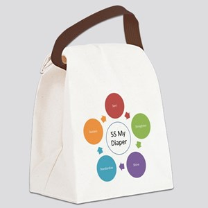 5S My Diaper Canvas Lunch Bag