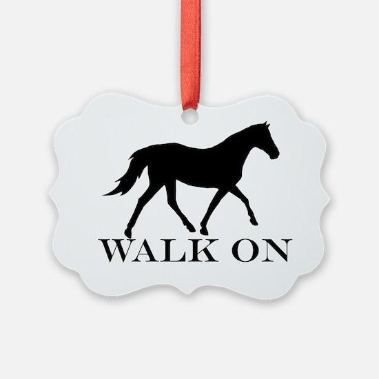 Walk on Tennessee Walker Hoodie Ornament