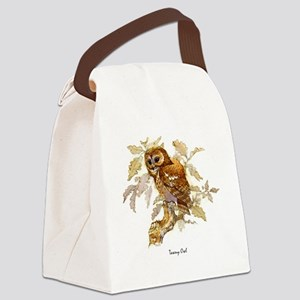 Tawny Owl Peter Bere Design Canvas Lunch Bag