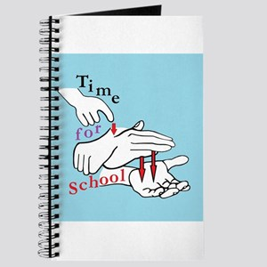 ASL Time for School Journal