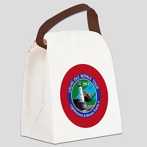 Isle Royale Lighthouse Tour Canvas Lunch Bag