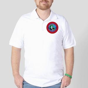 Isle Royale Lighthouse Tour Golf Shirt