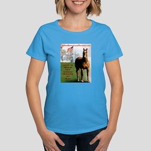 Save America's Horses Women's Dark T-Shirt