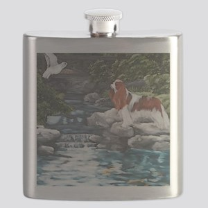 At the Koi Pond Flask