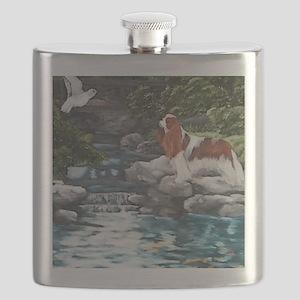At the Koi Pond Flask