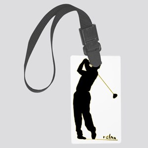 Golf Large Luggage Tag