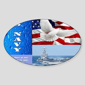 U.S. Navy Sticker (Oval)