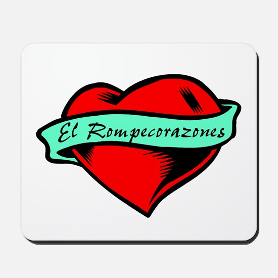 Heartbreaker (Spanish Male) Mousepad