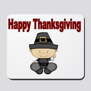 Happy Thanksgiving 1 Mousepad