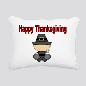 Happy Thanksgiving 1 Rectangular Canvas Pillow