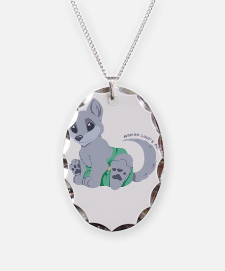 My cub wears cloth 2 (white) Necklace