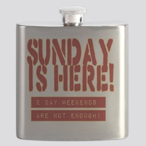 SUNDAY IS HERE! Flask