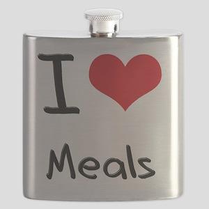I Love Meals Flask