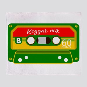 Mix Tape Throw Blanket